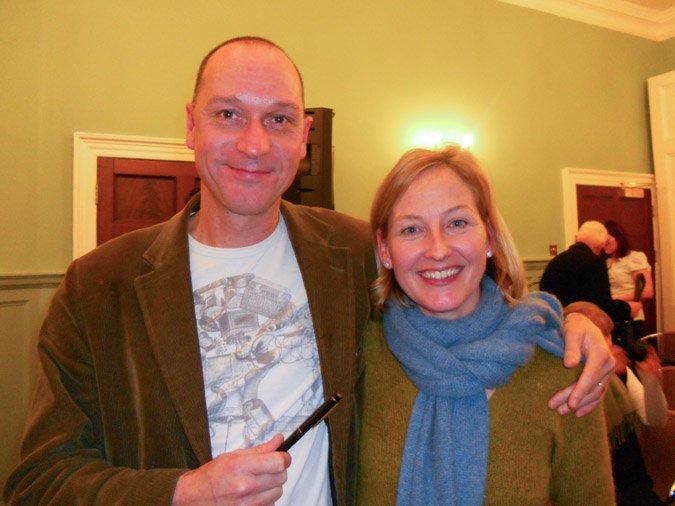 John Saturnall's Feast and Kate Colquhoun signing