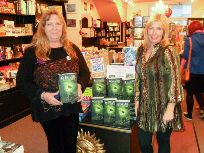 Kit Berry signing at Imagine Books Weymouth