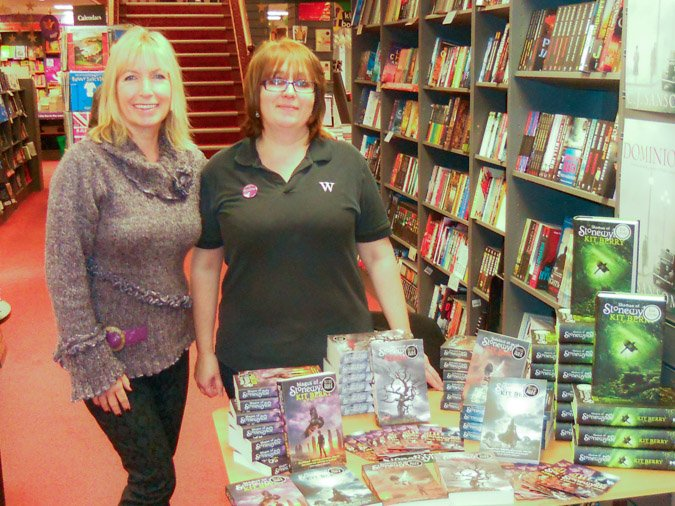 Kit Berry at Waterstones Camberley