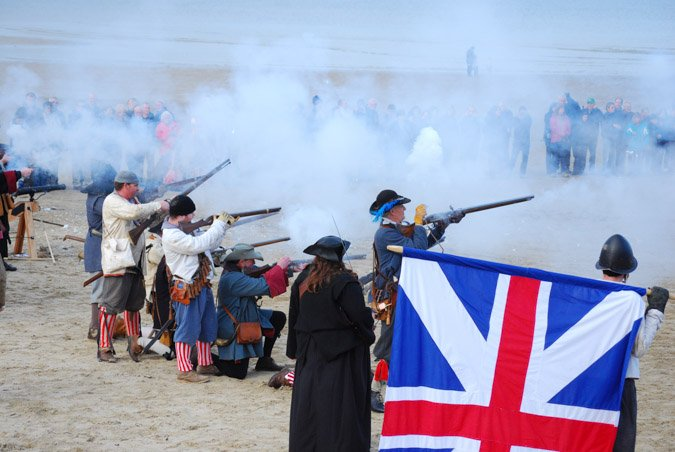 Civil War enactment - Weymouth