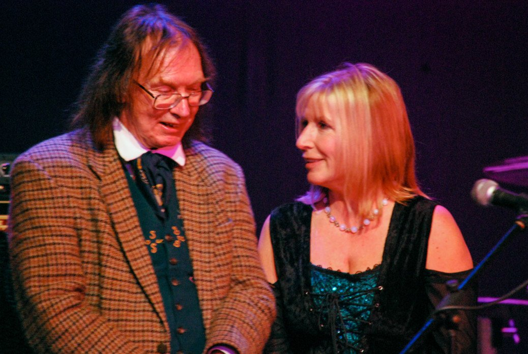 Kit Berry and Ronald Hutton at Crabchurch Conspiracy 2014