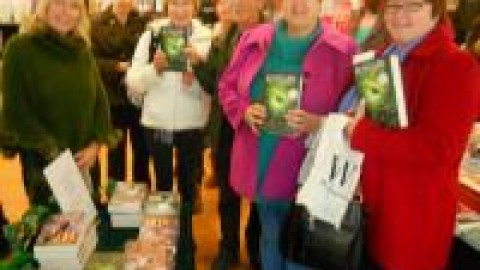 Southampton West Quay Waterstones Signing
