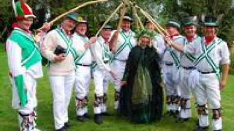 May Fair at Monkton Wyld, Dorset