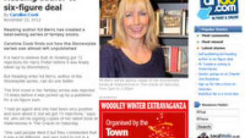 Kit Berry talks to the Reading Post Newspaper about Stonewylde