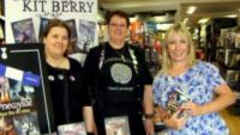 Eastbourne Waterstone's book signing