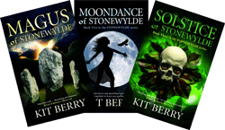 Original Stonewylde series book covers
