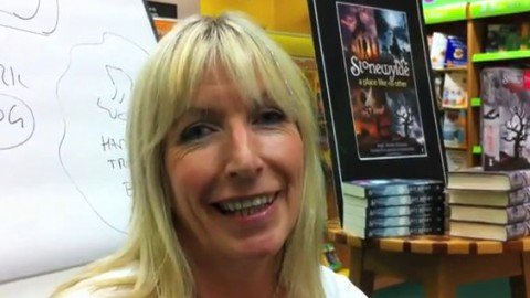 Kit Berry interview at Waterstones, Guildford