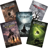 Five Stonewylde Book Covers