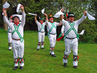 Morris Dancers at Monkton Wyld, Dorset